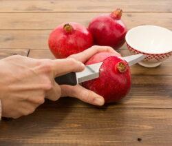 Granatapfel schneiden 4