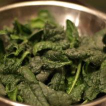 Spinat Zubereiten Waschen