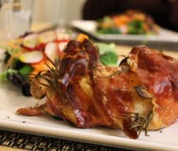 Rezept Hühnchen Mit Speck Und Romarin