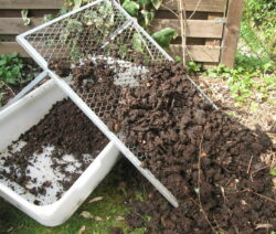 Kompostsieb Erdensieb