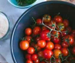 Tomaten Vor Dem Trocknen