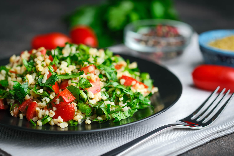 Petersilie im Salat