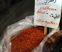 Safran Gewürzmarkt