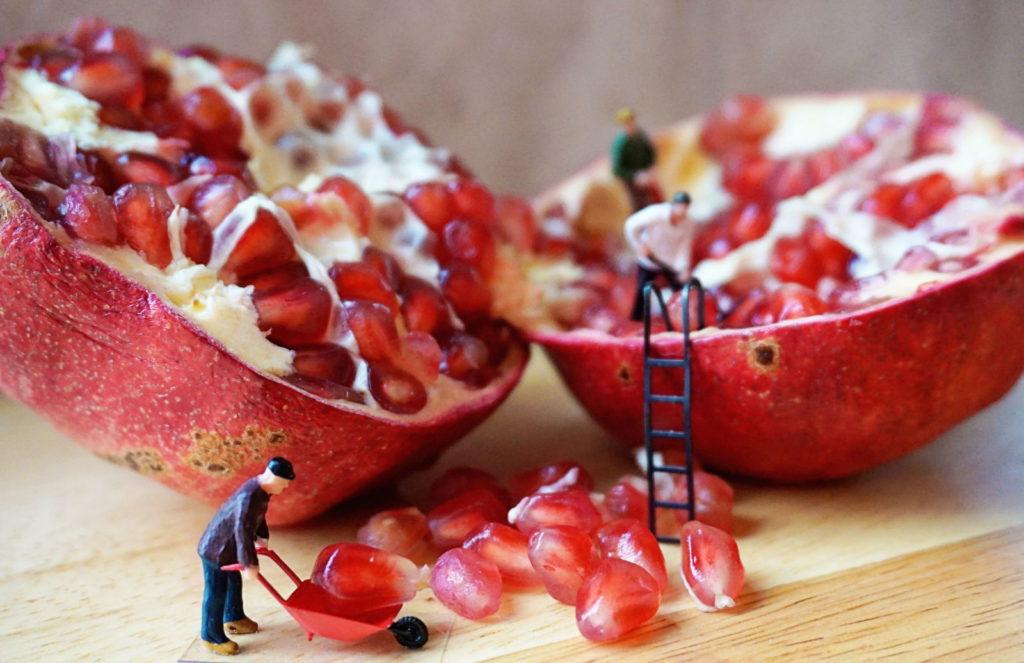 Hybridsaatgut Samenstand Granatapfel