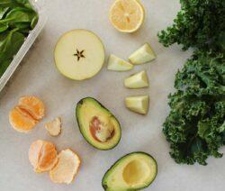 Smoothie Zutaten Mit Avocado