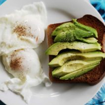 Avocado And Poached Eggs