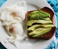 Avocado And Poached Eggs