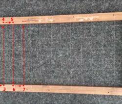 Nylonfaden Wird Gespannt Um Ein Stabiles Netz Zu Schaffen