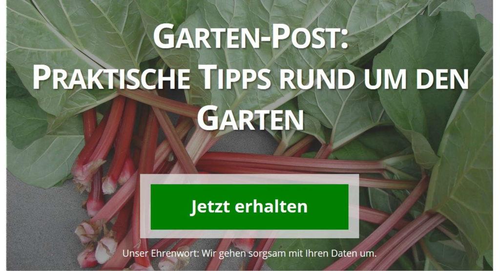 Planturas Garten-Post das online Gartenmagazin