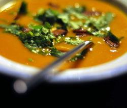 Suppe Mit Koriander1