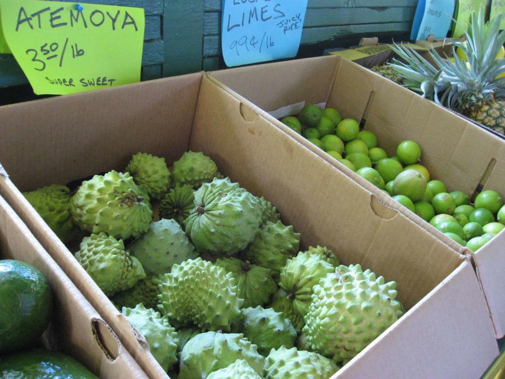 Atemoya auf lokalem Markt