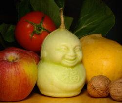 Buddha Pear Birne Mit Obst Teuerste FRucht