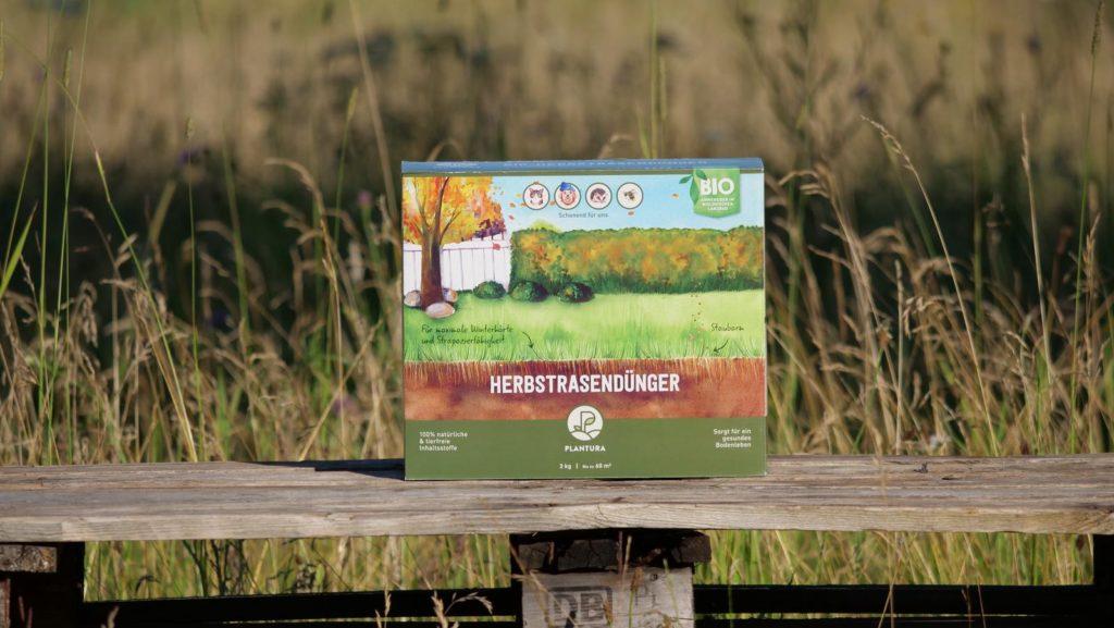 Plantura Bio-Herbstrasendünger Box