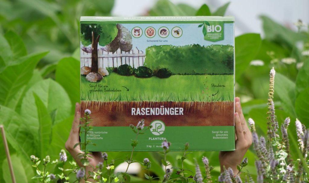 Plantura Bio-Rasendünger mit Langzeitwirkung