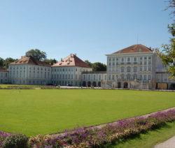 Rasen Im Schlosspark Schloss Nymphenburg