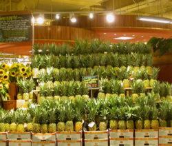 Wand Aus Ananas