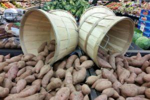 Süßkartoffeln Am Markt