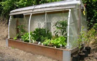 Hochbeet Als Gewächshaus Im Garten