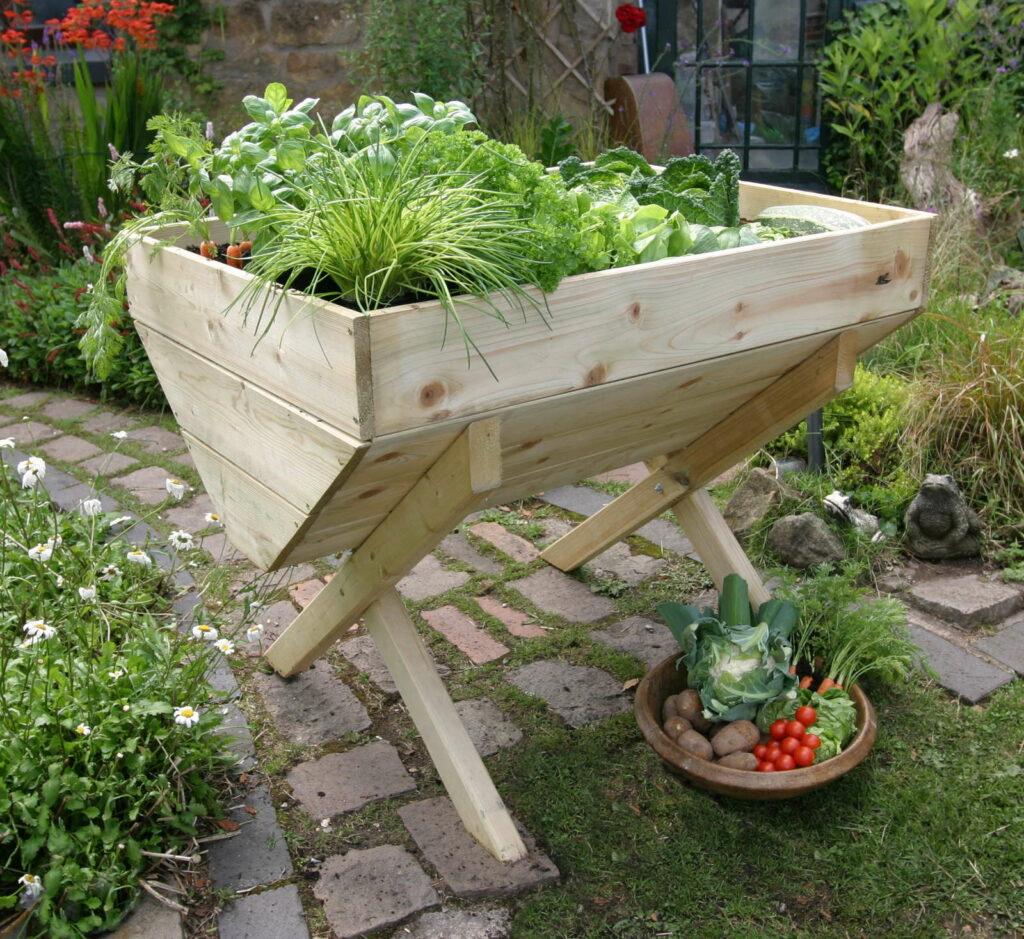 die top 10 der besten pflanzen f r ein hochbeet plantura. Black Bedroom Furniture Sets. Home Design Ideas