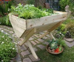 Hochbeet Mit Gemüse