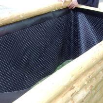 Hochbeet Bauen Mit Teichfolie Auskleiden