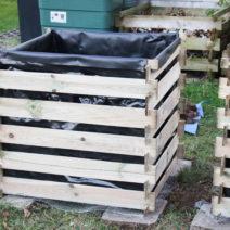 Hochbeet Ausgekleidet Mit Teichfolie Im Garten