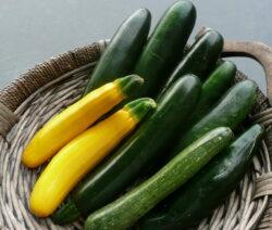 Zucchinis In Korb