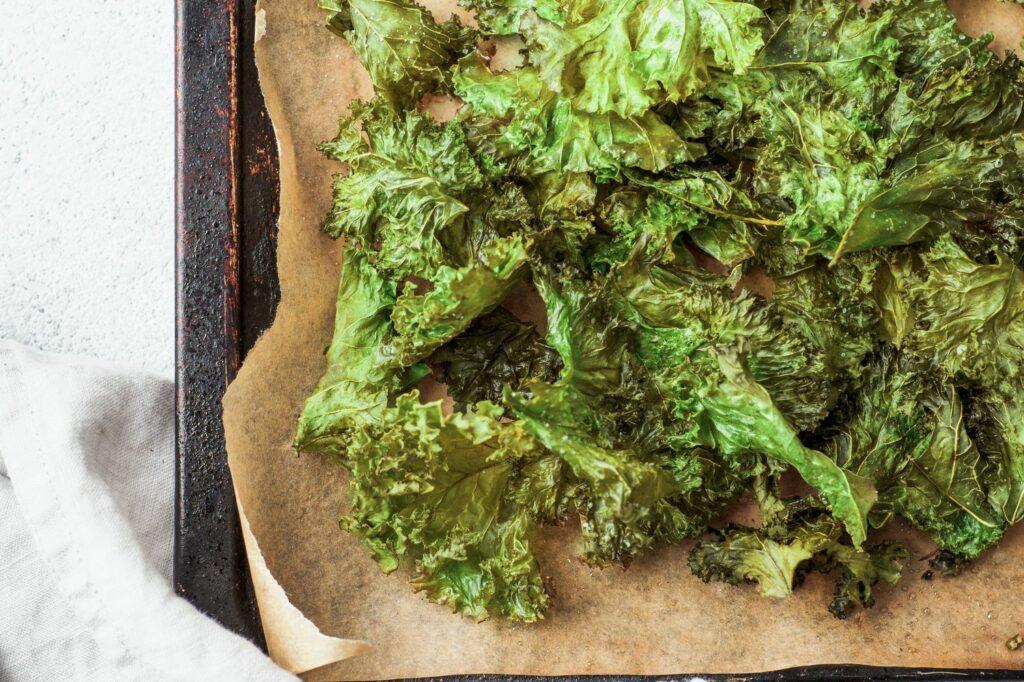 Chips aus Grünkohl