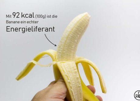 Banane Energiegehalt Kalorien