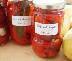 Eingelegte Paprika In Schraubglas