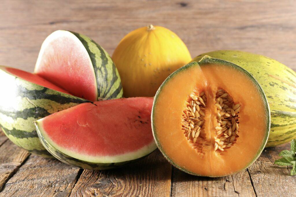Sorte von Melonen