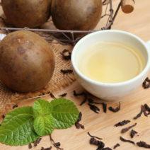 Luo Han Guo Teetasse Teeblatt