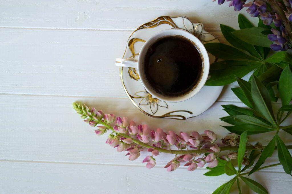 Lupinen Kaffee