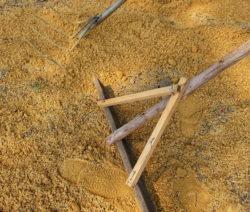 Sand Sanden Mit Rechen