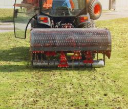 Elektrisches Aerifizierungsgerät Rasen Lüften