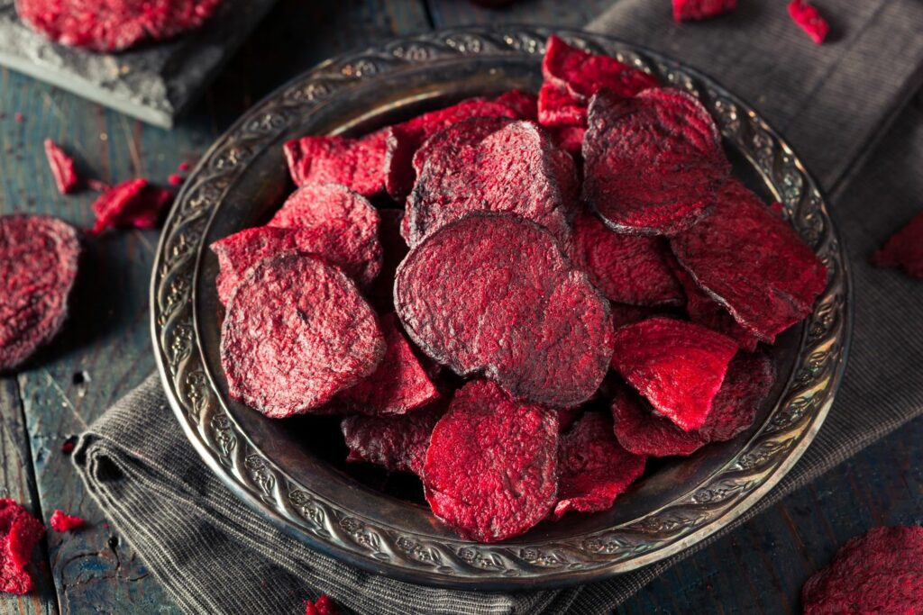 Chips aus Roter Bete