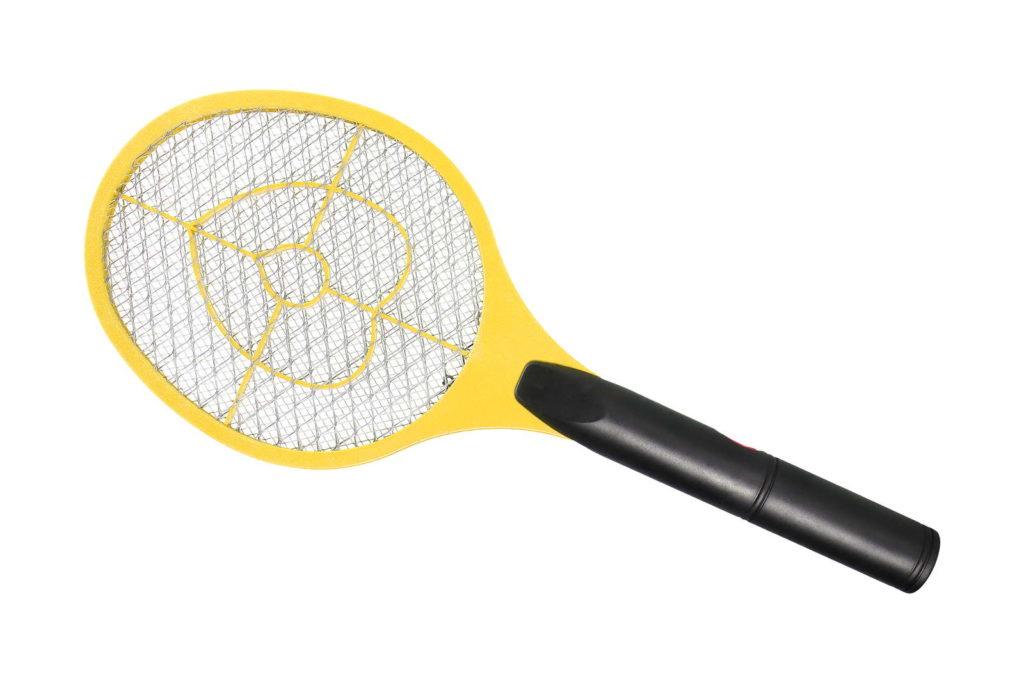 Elektrische Fliegenklatsche Obstfliegen