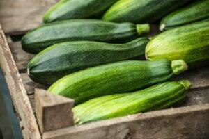 Zucchini In Korb