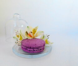 Macaron Mit Lilien