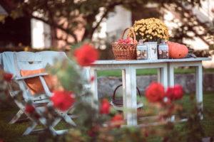 Garten Im Herbst Dekoration
