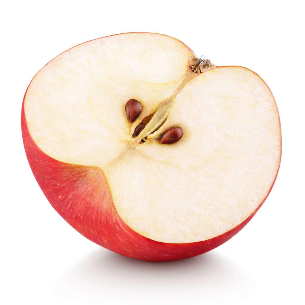 Aussähen eines Apfelbaumes mit Hilfe von Apfelkernen