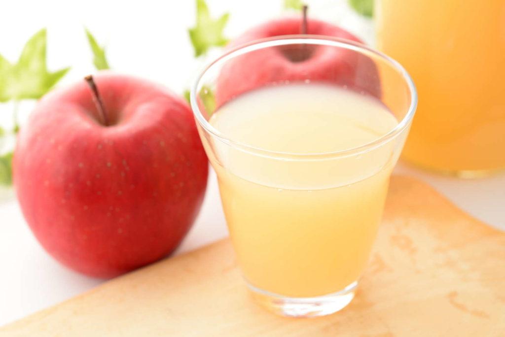Apfelverarbeitung zu Apfelsaft