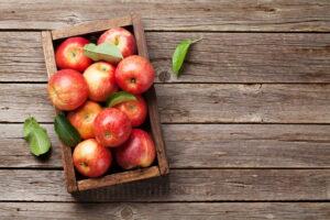 Äpfel Ernten Und Lagern