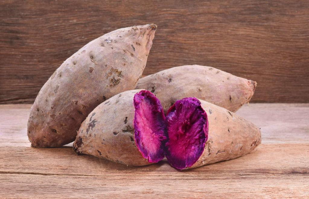 violette Süßkartoffeln