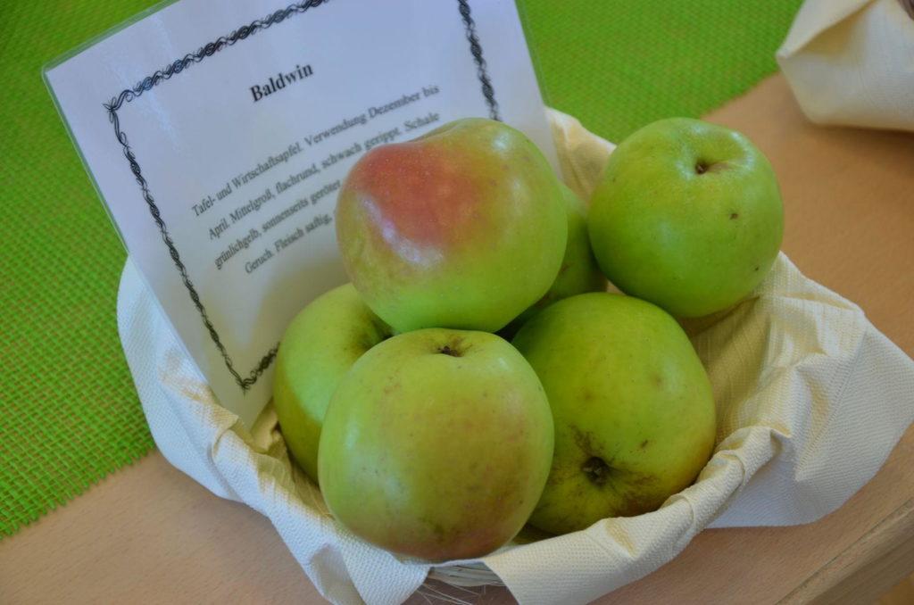 Baldwin Äpfel in einer Schale