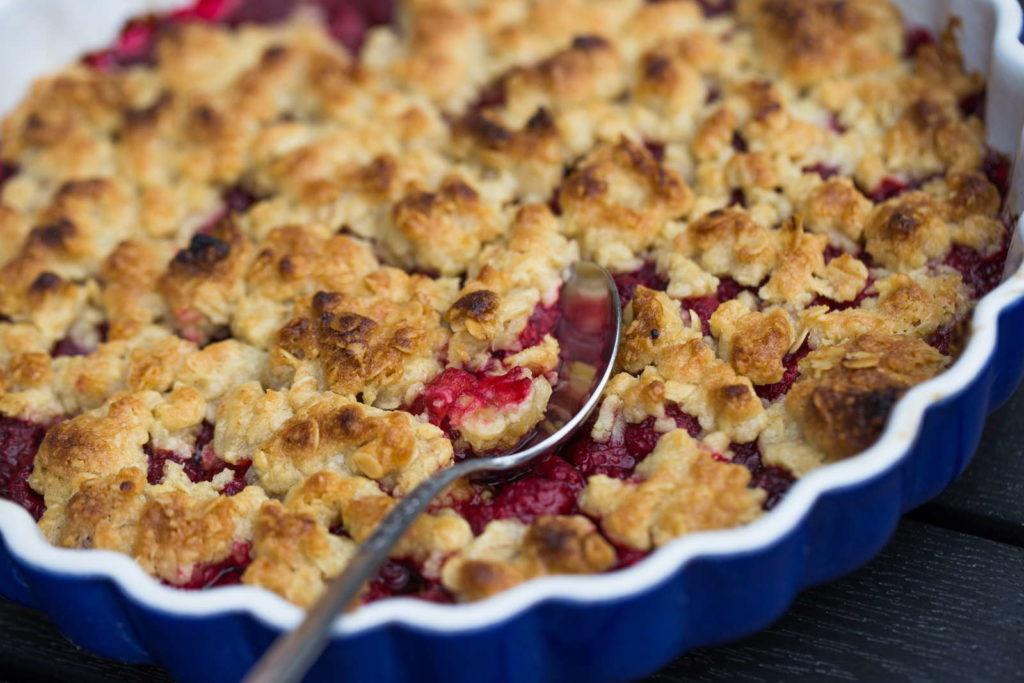 Tayberry Crumble