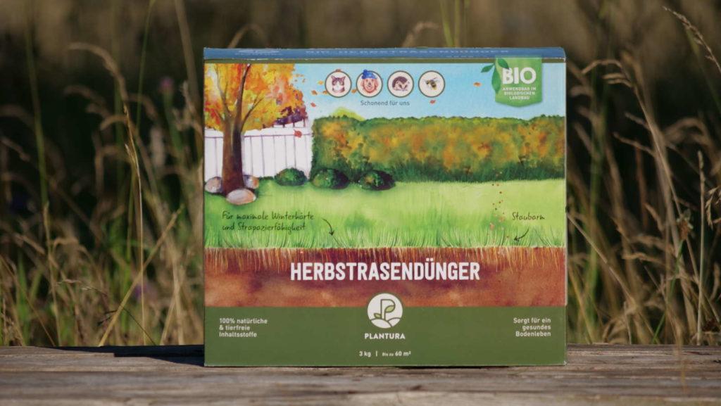 Plantura Bio Herbstrasendünger