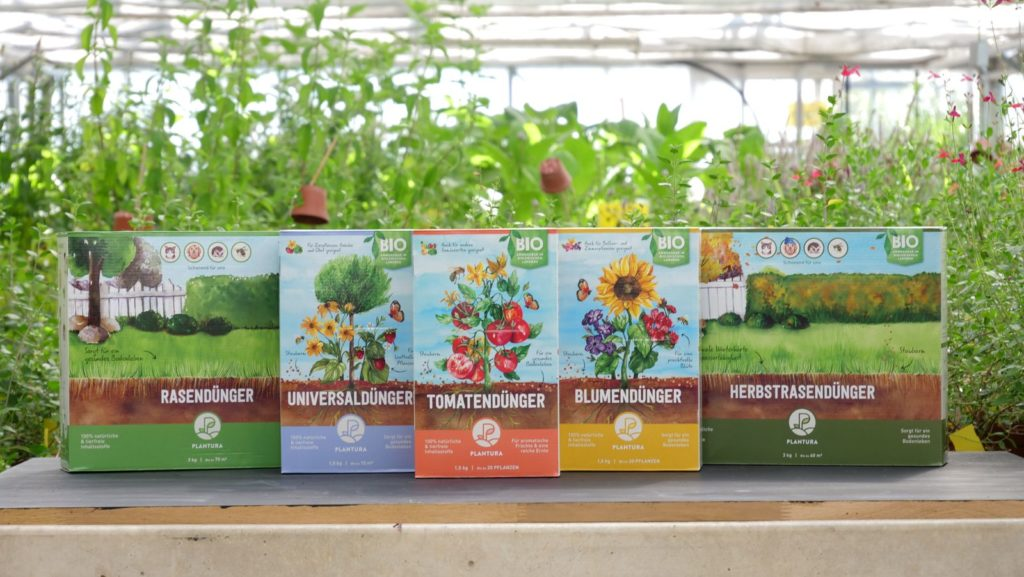 Plantura Bio-Dünger Produktreihe