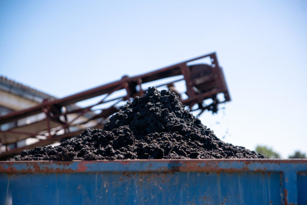 Industrielle Kompostierungsanlage