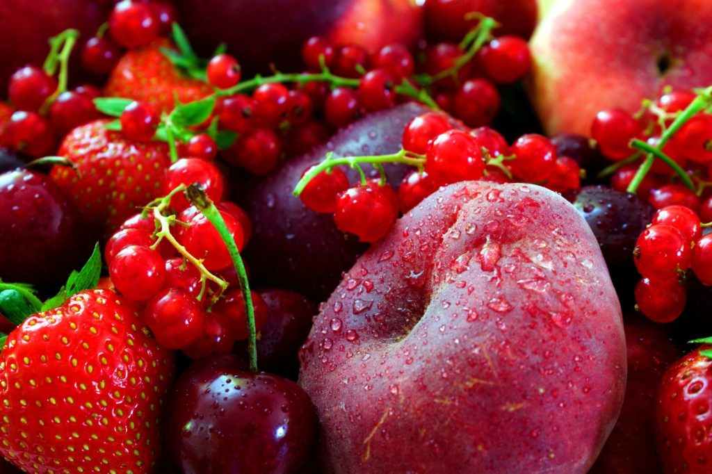 Rotes Obst